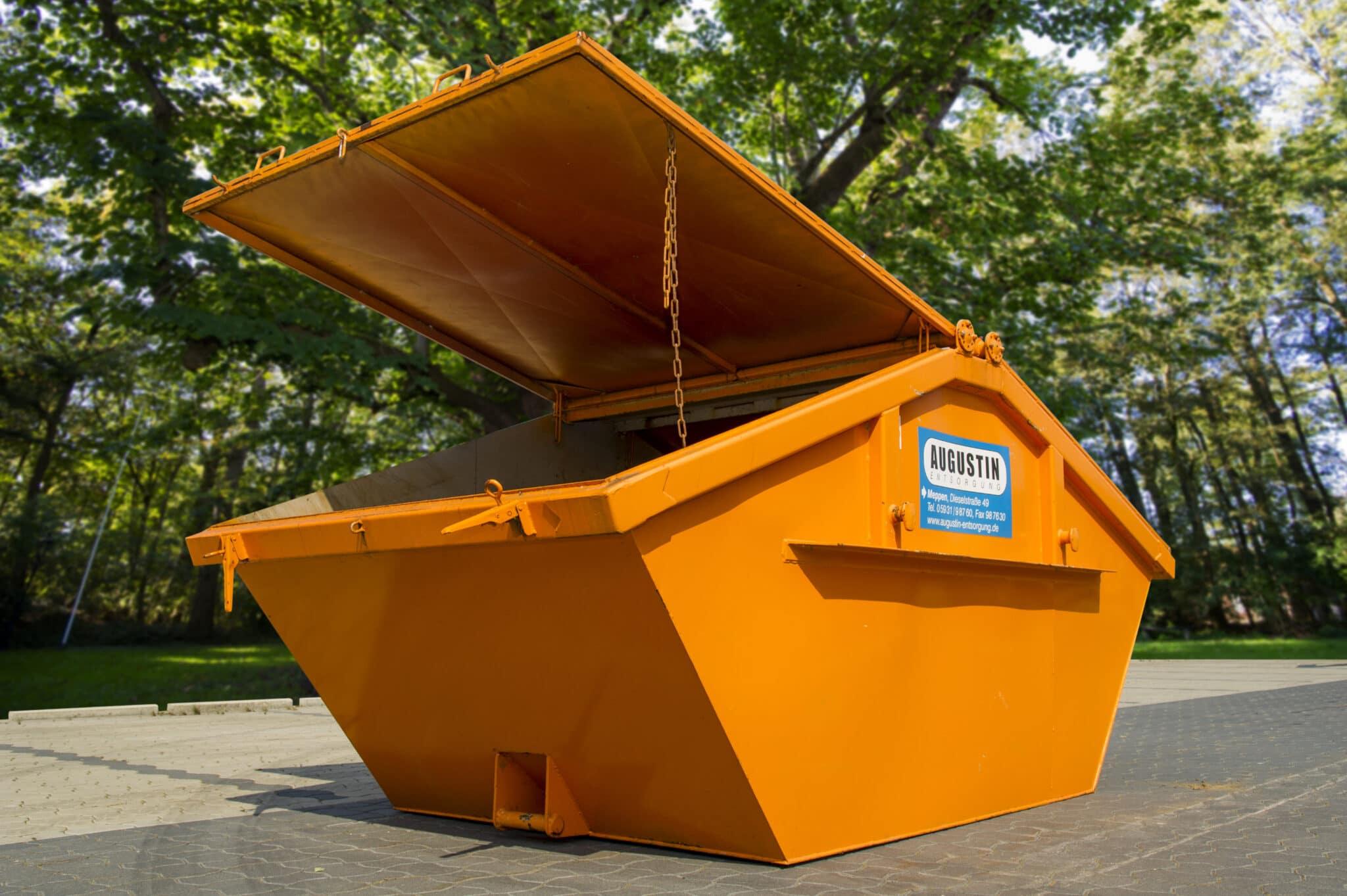 Absetzcontainer 5,5 m³ mit Deckel