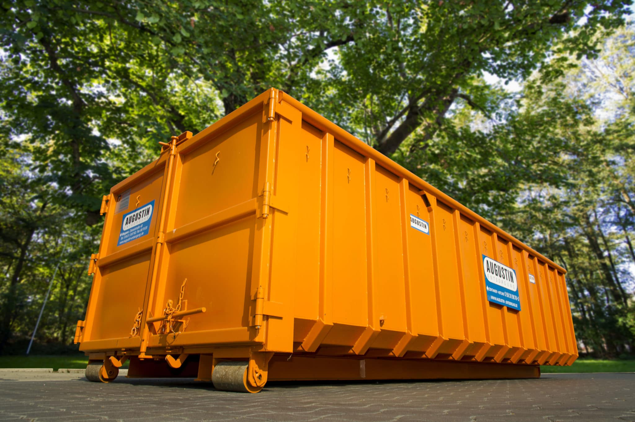 Abrollcontainer 30 m³