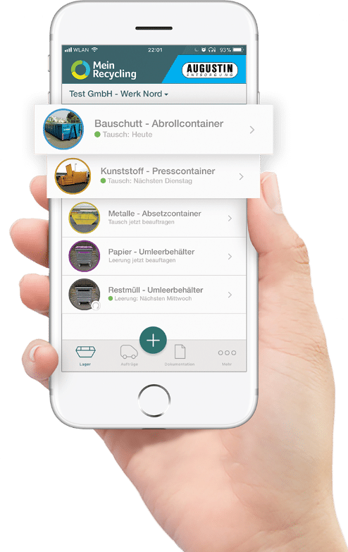 Mein Recycling App