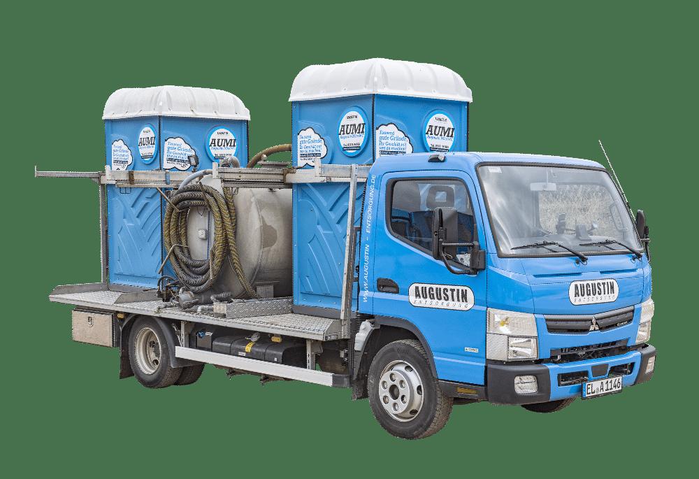 AUMI Miet-WC Service Wagen